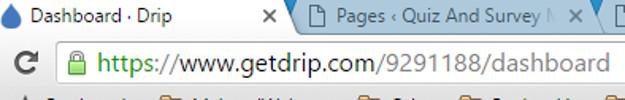 Drip Integration Account ID