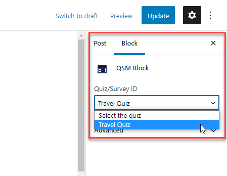 Adding your Quiz or Survey to your site - Image 4