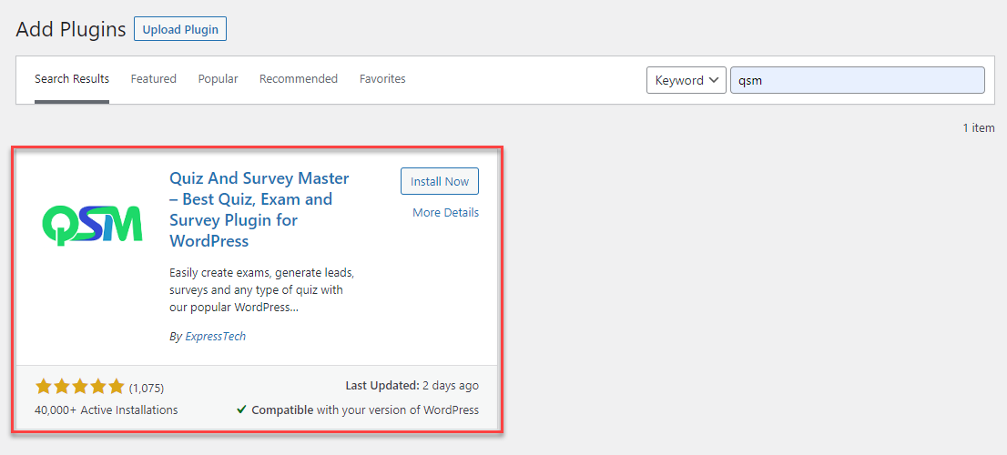 INSTALLING THE PLUGIN - Quick Start Guide