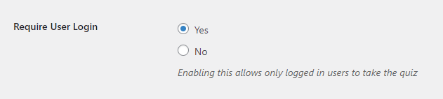 Requiring a user to be logged in - QSM
