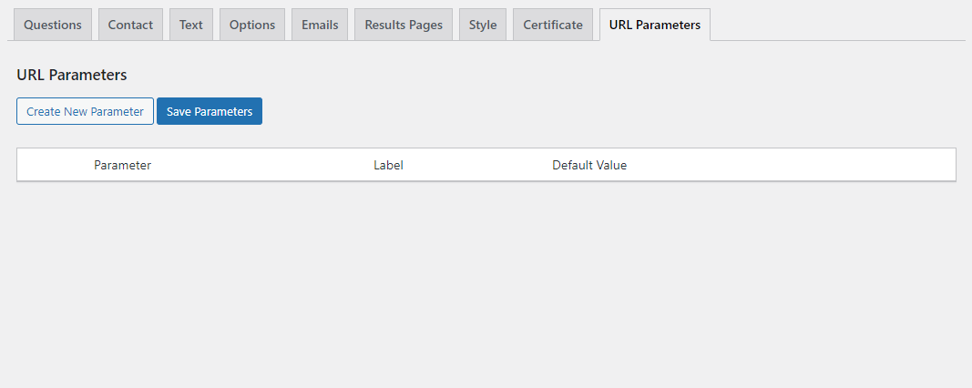 Quiz and Survey Master - URL Parameters Addon - Adding New Parameters