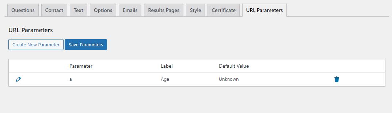 Quiz and Survey Master - URL Parameters Addon - Saving Parameters.png