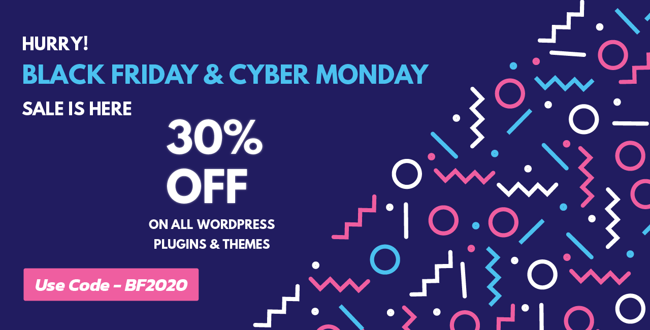 Black Friday and Cyber Monday Sale - ET