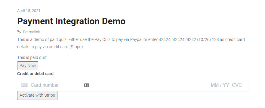 How to create a form in WordPress and link with PayPal or Stripe - Payment Integration in Action