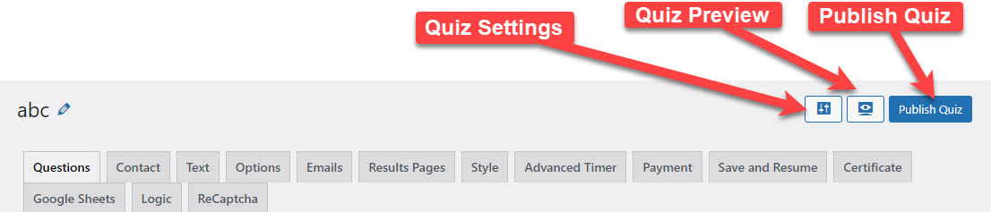 How to create a form in WordPress and link with PayPal or Stripe - Publish Quiz