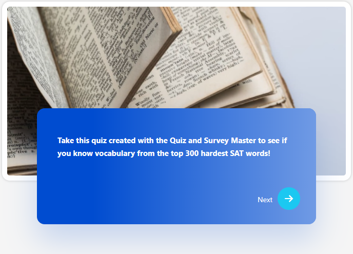 QSM Pool Theme - Quiz and Survey Master