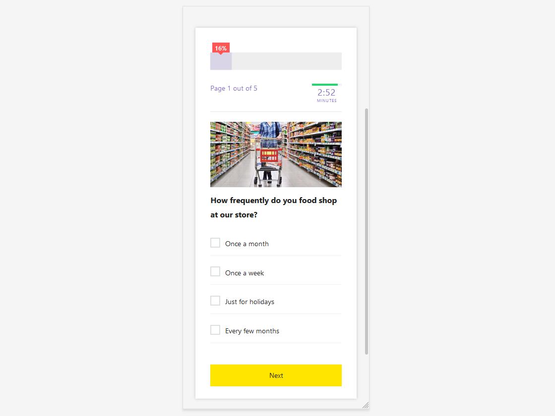 Mobile-Optimized Survey Explained - Build Mobile Surveys using QSM - Survey in Action