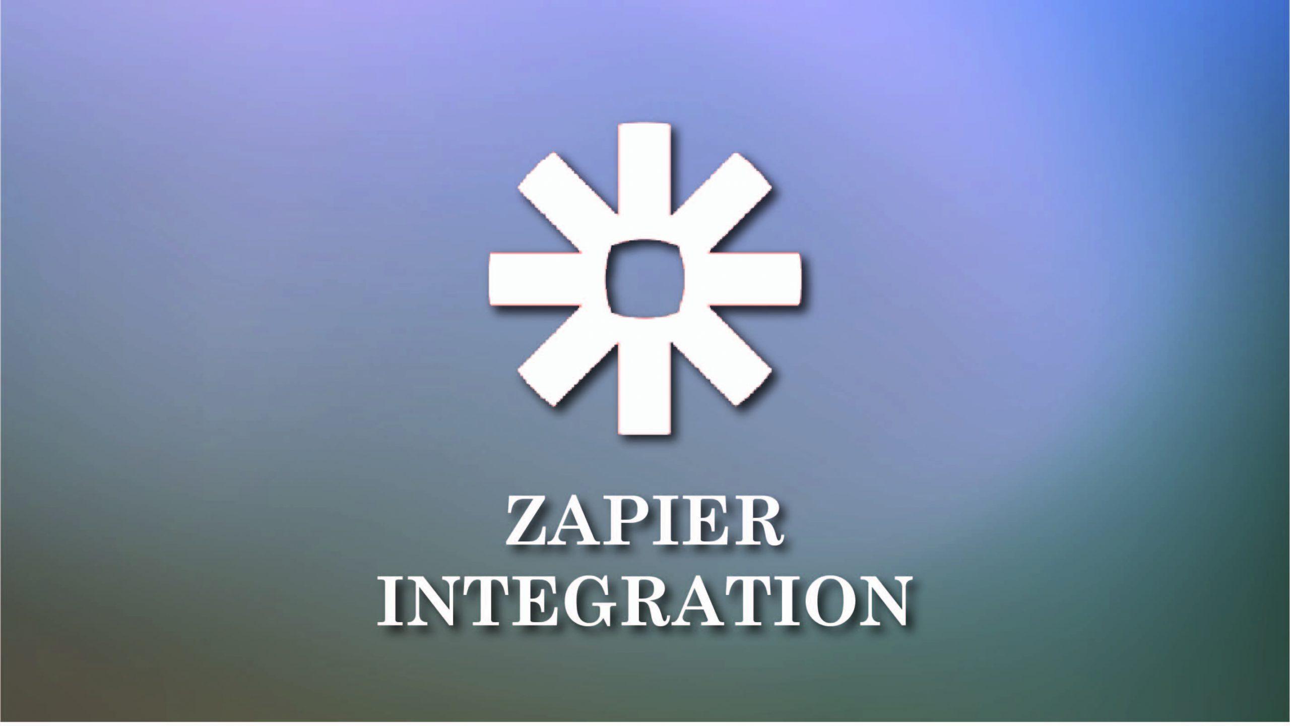 Zapier Integration