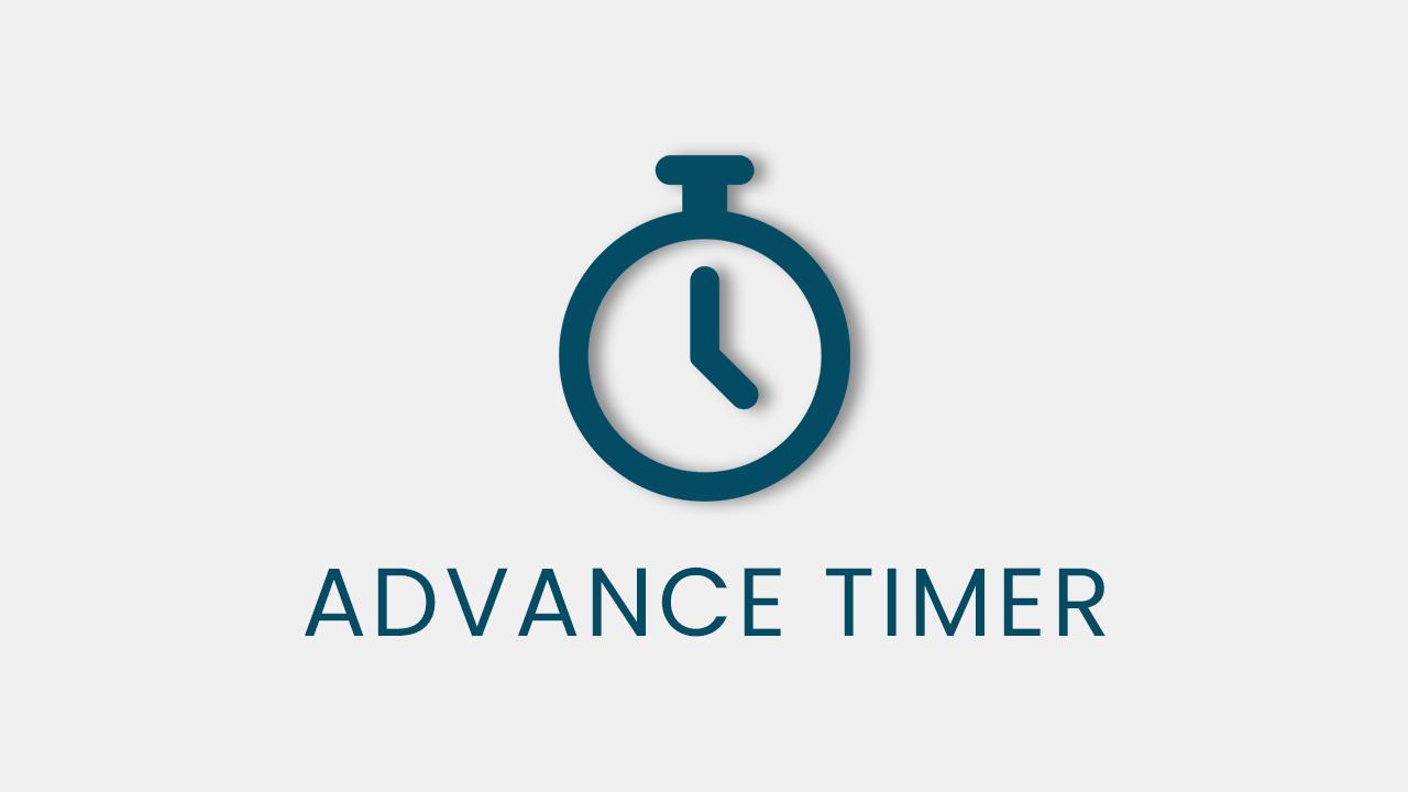 advance timer qsm