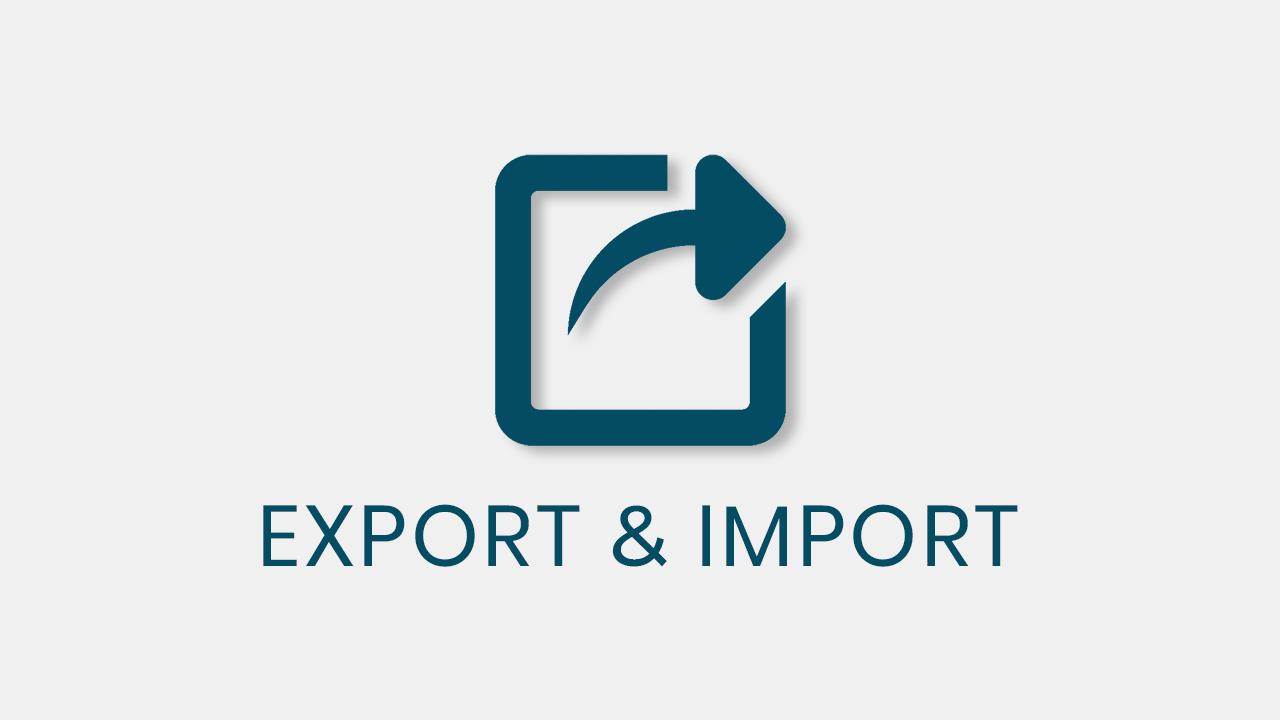 Export & Import qsm