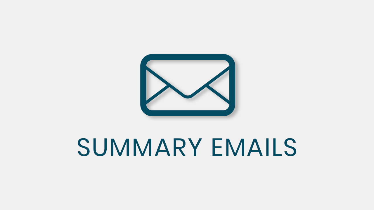 Summary Emails qsm